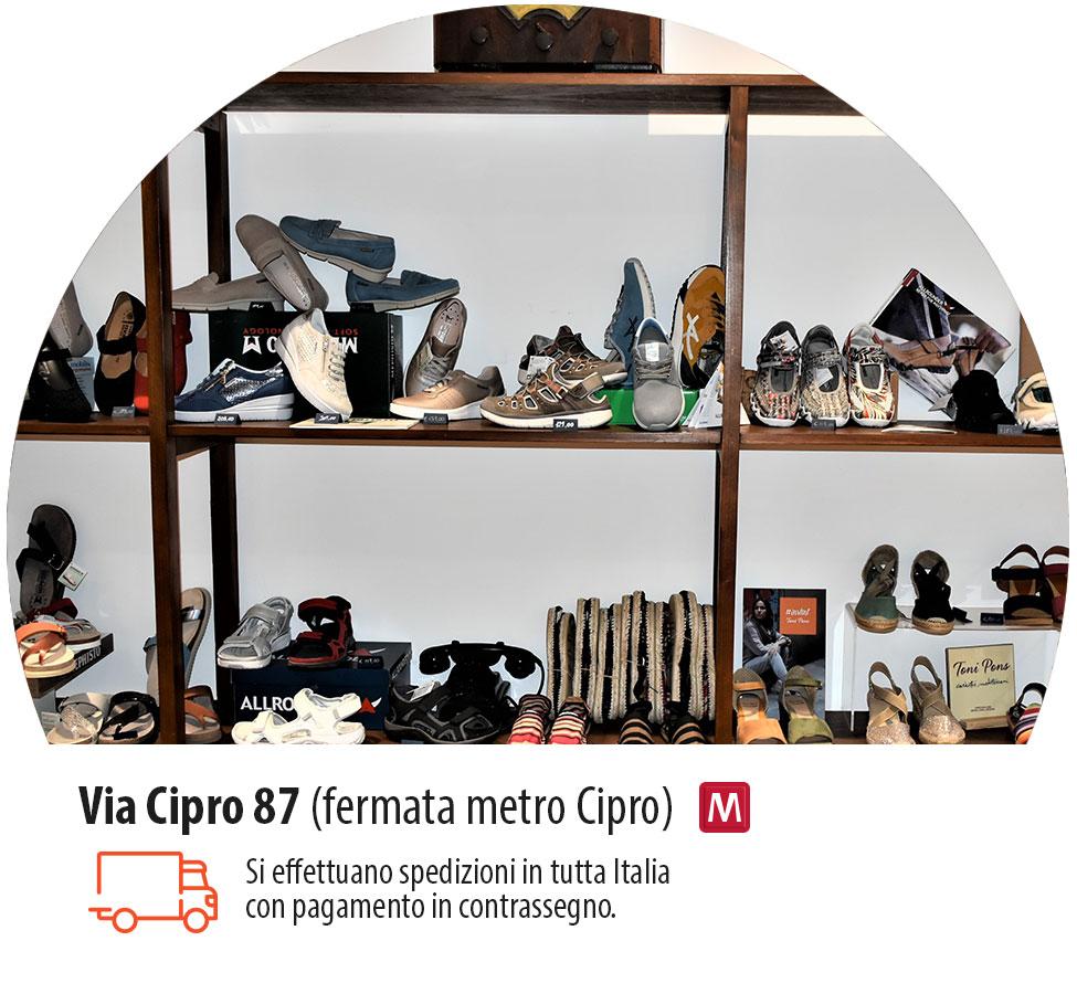 Polluce Calzature comode via Cipro 87 Roma